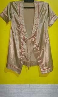 Kimono Satin gold