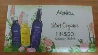 Melvita HK$59 cash coupon