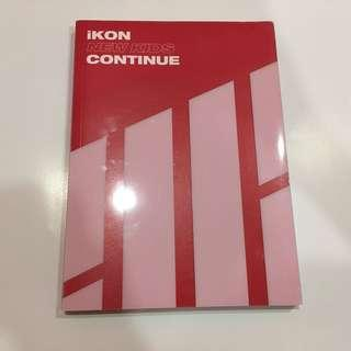 WTS IKON NEW KIDS CONTINUE RED VERSION