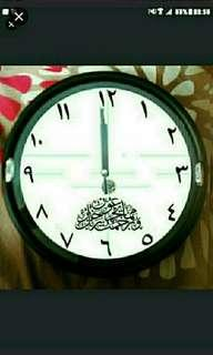 2.  Aayar QURAN Muslim ARABIC Clocks  Be Part Of A  passionate Group Which Seeks To appreciate ARABIC CALLIGRAPHY.  YOU should strive to cultivate a culture based on The Noble Al-Quran with  Art in Your Home Sweet Home!  YOU Can