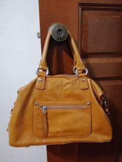 Brown handbag Italian brand