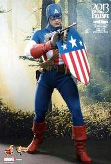 Hot Toys MMS 205 Captain America ( Star Spangled Man Version )