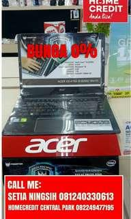 Laptop ACER E5476G58AH Kredit Tanpa Kartu Kredit Bunga 0% Jakara