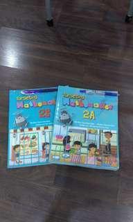 Assorted primary 2 textbooks
