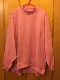Monki全新粉紅色衛衣,Size:L,原價$200。注意:可以先入數之後順豐到付