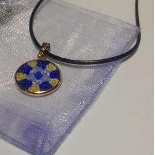 [Euphoria] Millefiori, Murano Glass Pendant from Italy