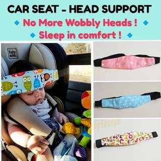Car Seat - Head Support