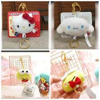 🚚 Sanrio Retractable Keychain #1212