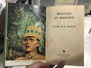 Vintage Book: Biggles in Borneo