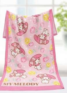My Melody浴巾
