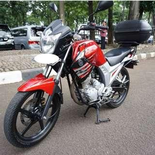 Yamaha Scorpio Z Tahun 2012 225cc Merah Gress & Legit