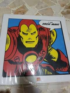 MARVEL COMICS I AM IRON MAN PRINT