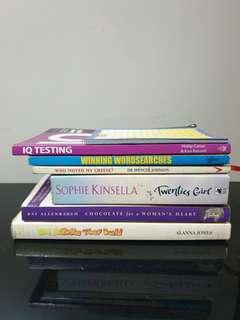 English Novels/IQ Testing/ Puzzle/ Children Activities Book