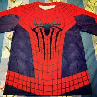 Baju Kaos The Amazing Spiderman 2 Costume