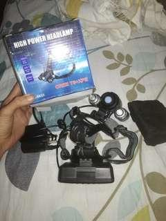 High power headlamp