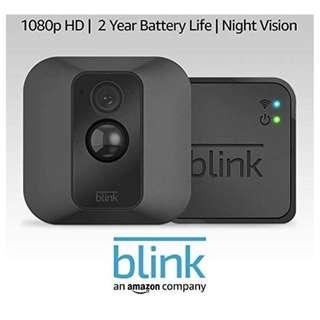 Blink XT security camera (Motion sensor, 2year battery, cloud storage)