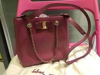 d59d4d1f94 Salvatore Ferragamo two way bag
