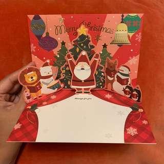 立體賀卡 聖誕卡 3D Christmas card