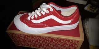 Vans ultracrush red