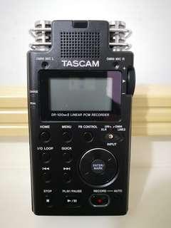 TASCAM DR-100MK Ⅱ 錄音播放神器