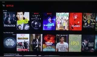 Netflix Account Subscription 4K UHD RM15/mth