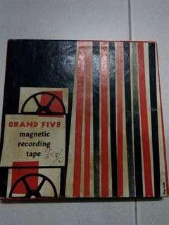 Magnetic Recording Tape 1961