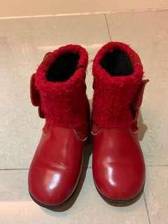 🚚 真皮童靴