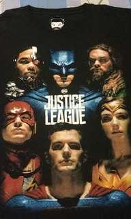 Baju/Kaos Justice League Movie limited Edition