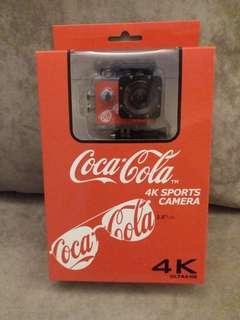 Cocacola 可口可樂4K運動拍攝相機
