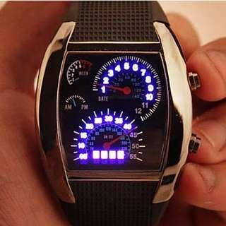LED CAR TABLE WATCH