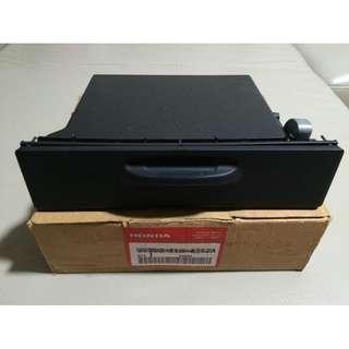Original Honda Part 1-DIN storage box / pocket / shelf for use with 1-DIN head unit