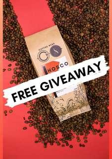 Coffee Beans Free Giveaway! (HOSCO Houseblend)