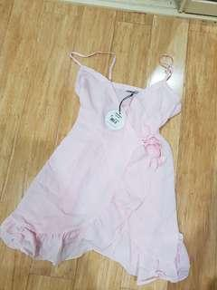 BNWT ATMOS N HERE pink dress size 8