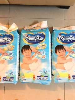 Mamypoko Extra Dry Skin XXL34