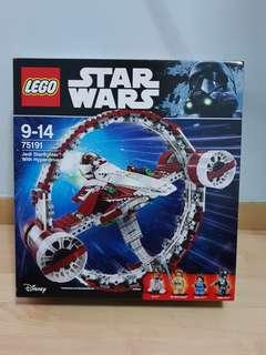 Lego Star Wars 75191 Jedi Starfighter With Hyperdrive Obi Wan - Brand New MISB Box Has Creases