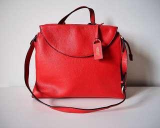 Kate Spade Saturday Red Satchel Bag