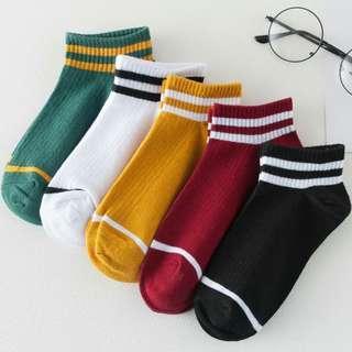 [PO] cotton striped socks