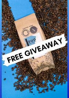 Coffee Beans Free Giveaway! (DUO Houseblend)