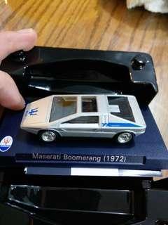 Maserati Boomerang 1:60 模型跑車