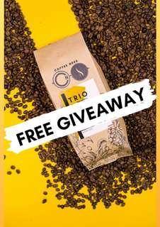 Coffee Beans X'mas Giveaway! (TRIO Houseblend)