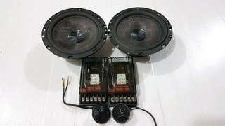 Flux Sporty 160 full set 2 way component speakers- comes with free tweeters pot