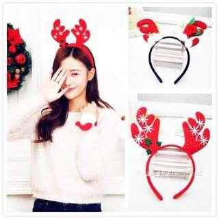 Christmas Headbands (minimum of 4pcs)