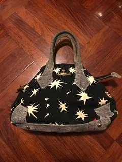🈹💥🈹💥超抵Limited version Vivienne Westwood VW 星空系列 袋子 超型圖案 布袋 包包 手提袋 ★美品★(絕版) bag