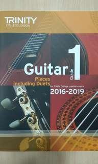Trinity Guitar Exam Book Grade 1