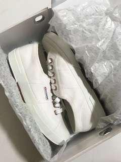 White Rose Gold Superga