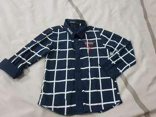 Boy plaid shirt