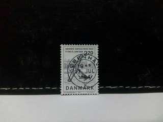 1984 Denmark Stamp Memorial Anchor