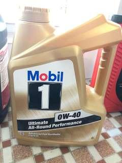 Mobil 偈油 0W-40