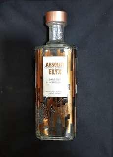 Limited Edition Absolut Vodka Elyx