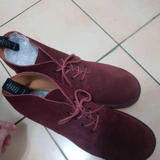 wtaps 紅色皮革製靴子 皮靴 neighborhood sophnet visvim lv bv slp